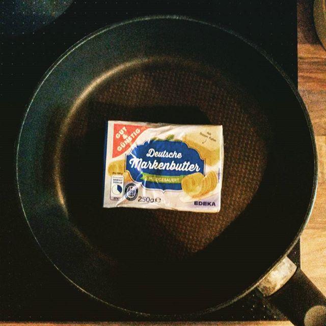 Heute gibt's #butter