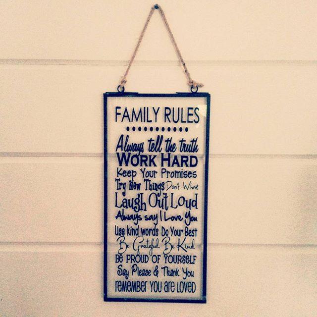 Dann wäre das ja geklärt. #family #rulez