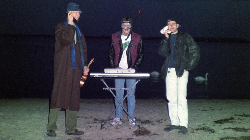 Eric, Marc und Michael machen Techno