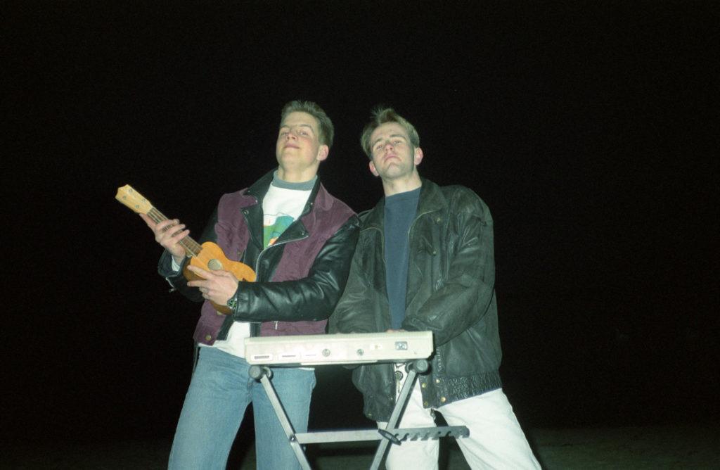 Unplugged: Marc und Michael an Ukulele und Atari ST